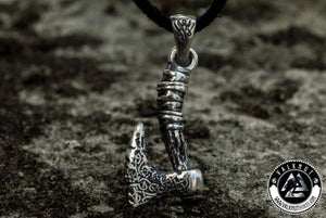 Aggressive Passion - Viking Axe Pendant, 925 Sterling Slver