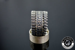 Massive Arrows Ring, 925 Sterling Silver