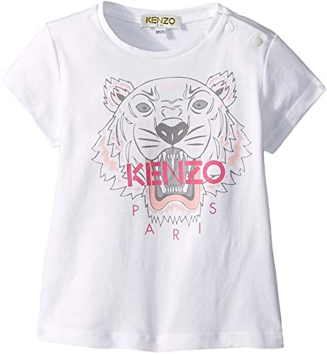 a2ee7674 Kenzo Kids Baby Girl's Printed Tiger Graphic Tee (Infant) White 12 Months