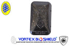 BLACK *FLEXABLE ORGONITE  EMF Protector for Cell and Tablet Vortex Bio Shield