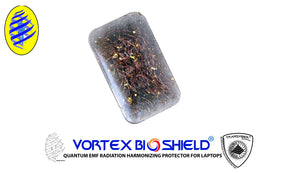 Smokey Quartz EMF Protector for Cell and Tablet Vortex Bio Shield