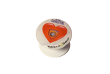Red Heart Quantum EMF Protector Pop Up Grip By Vortex Bioshield