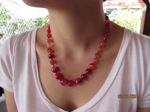 Red Agate Quantum EMF Harmonizing Anklet - Be Balanced anywhere ! - Quantum EMF Protectors