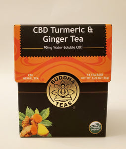 J. CBD Turmeric & Ginger Tea