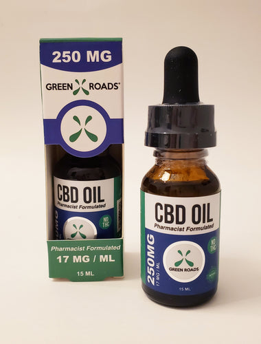 E. Green Roads CBD Oil 250mg