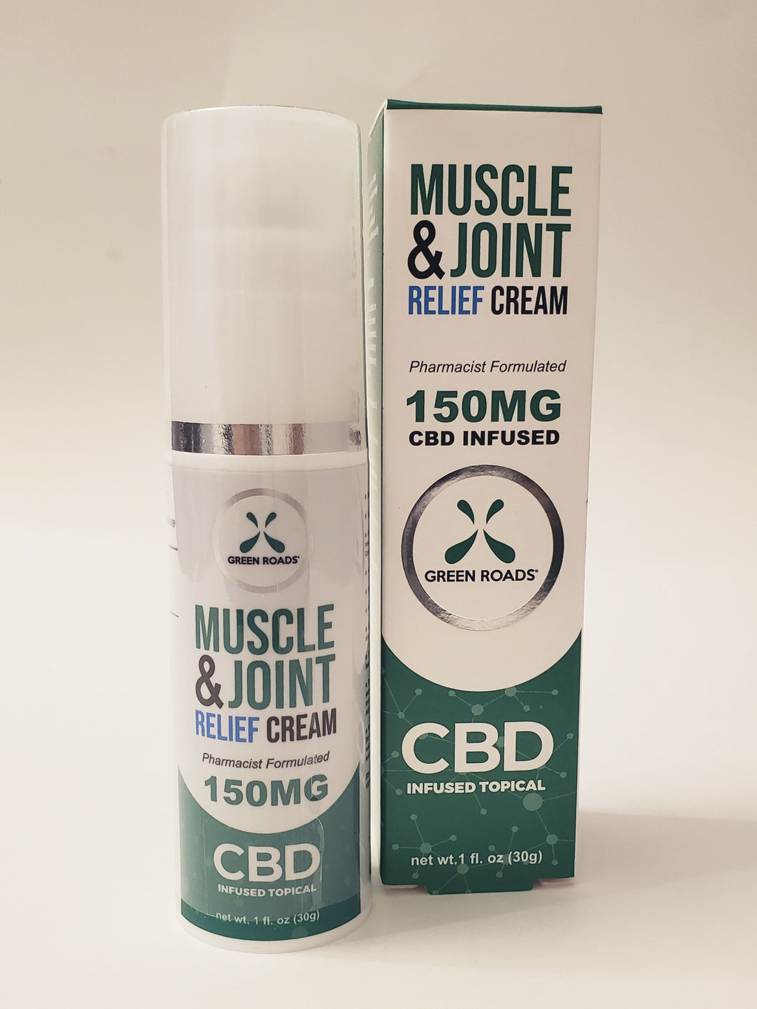 H. CBD Muscle & Joint Relief Cream 150mg