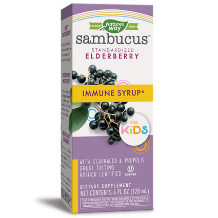 Nature's Way Elderberry Sambucus for Kids - Immune Support