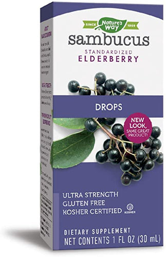 Nature's Way Sambucus Elderberry Drops