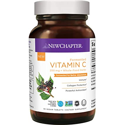 New Chapter Fermented Vitamin C - 60 Vegan Tablets
