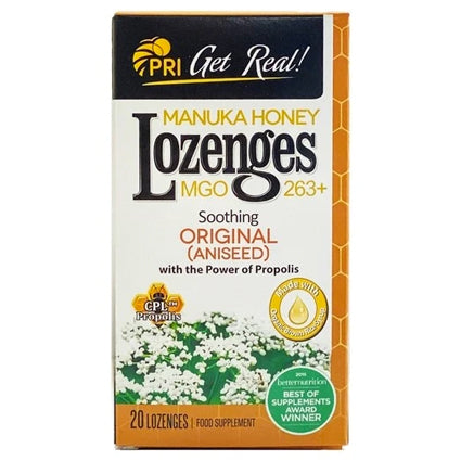 PRI Manuka Honey Lozenges - Original