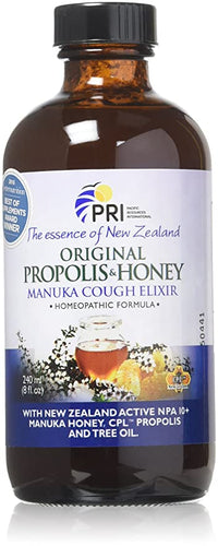 Pacific Resources Propolis and Manuka Honey Cough Elixir
