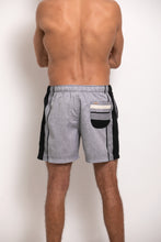 Load image into Gallery viewer, Hipster Shorts - Grey & Black