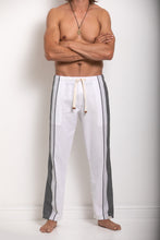 Load image into Gallery viewer, Trousers - White & Grey
