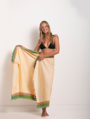 Sarong - Sandy Yellow
