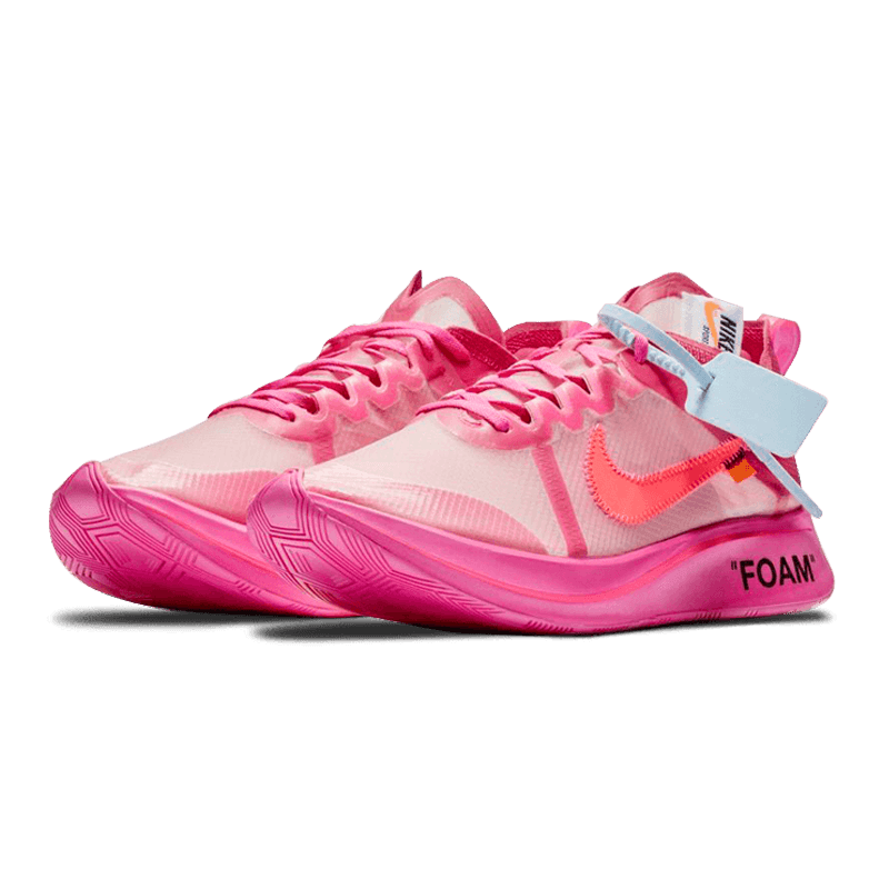 a0e199715fd6 Nike Zoom Fly Off-White Pink – Preference