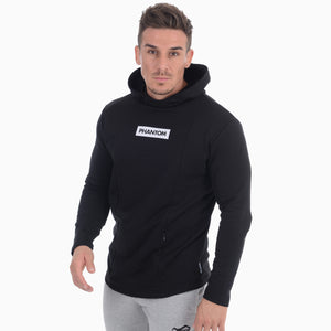Phantom Athletics Fitness Hoodie Zero Schwarz Black