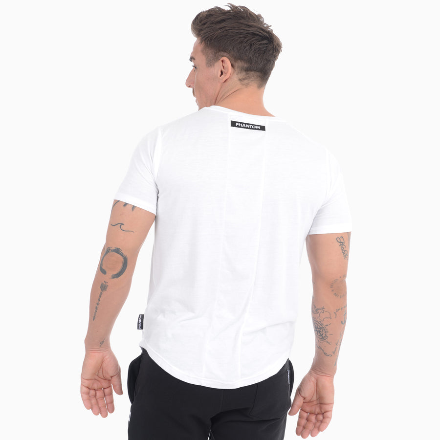 Phantom Athletics T-Shirt Zero Weiß White