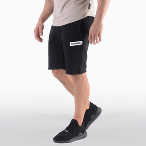 PHANTOM ATHLETICS - Shorts Zero Schwarz Fitness Sport