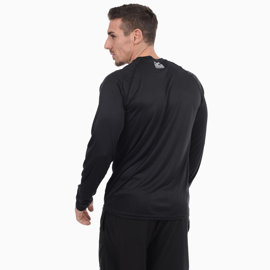 Phantom Athletics Tactic Training Shirt Trainingsshirt Langarm Long-sleeve Schwarz Black