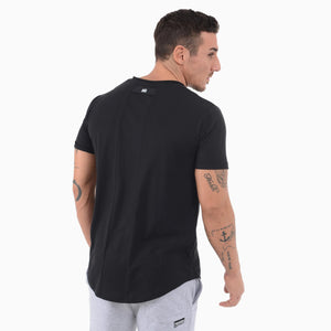 Phantom Athletics T-Shirt Team Tee Shirt Kurzarm Shortlseeve Sportlich Freizeit Black Schwarz fashion