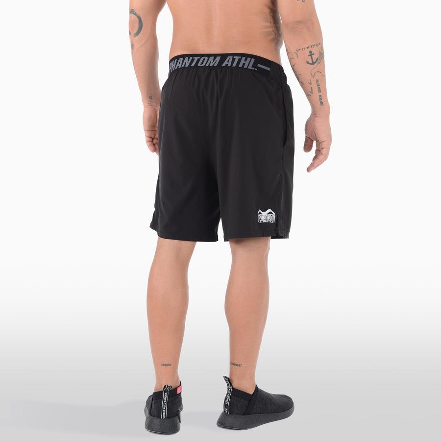 Phantom Athletics Tactic Trainingshort Training Short Hose kurz Fitness Black Schwarz