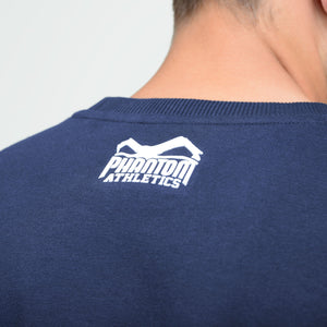 Phantom Athletics Team Sweatshirt Trainingssweater Sweater Training Freizeit Sport Langarm Blue Blau Navy