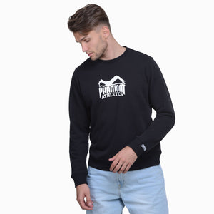 Phantom Athletics Team Sweatshirt Trainingssweater Sweater Training Freizeit Sport Langarm Schwarz Black