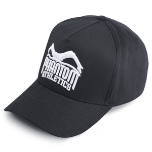 Phantom Athletics Team 5 Panel Fashion Trucker cap verstellbar Logo Schwarz Weiss