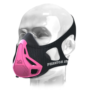 Phantom Trainingsmaske Phantom Maske Training Mask Schwarz Black Pink Lila Rosa Rose