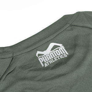 Phantom Athletics Stealth Training Shirt Trainingsshirt T-Shirt Kurzarm Short-Sleeve T-Shirt Schwarz Black Green Logo reflektierend Reflective