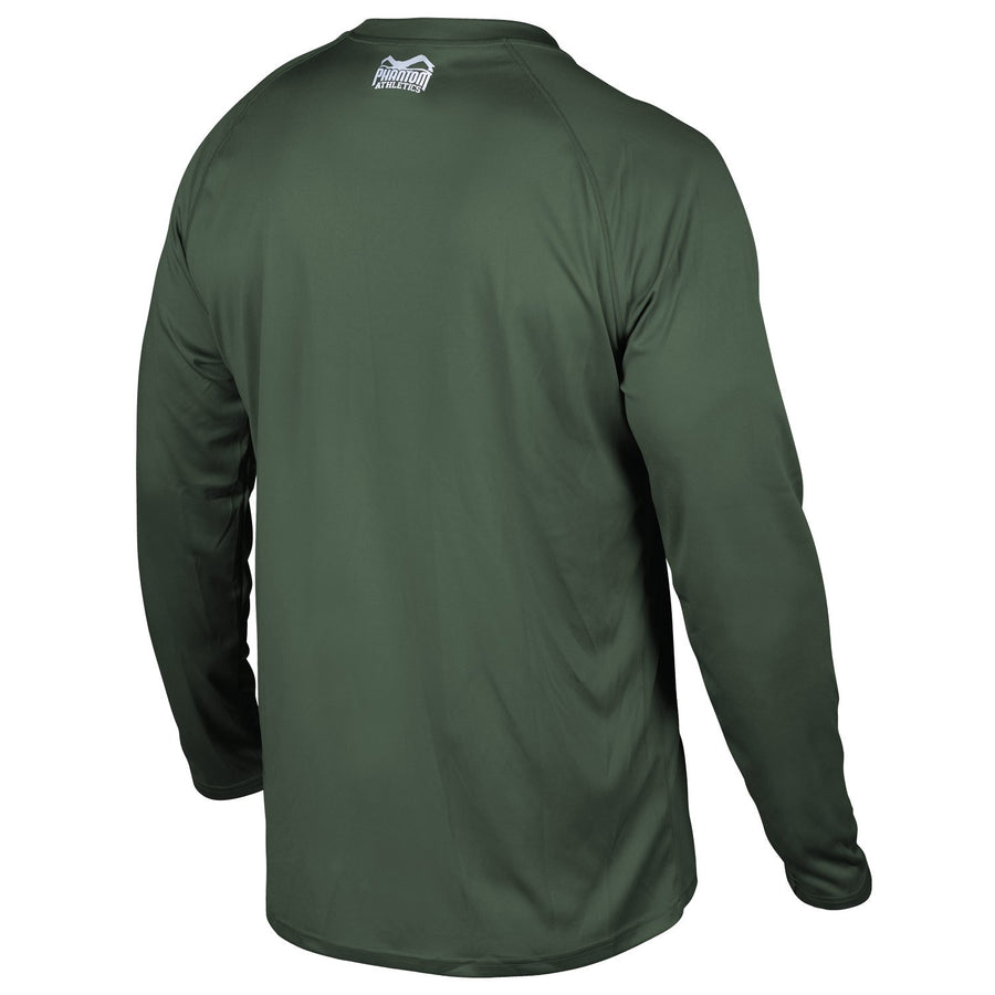 Phantom Athletics Tactic Training Shirt Trainingsshirt Langarm Long-sleeve Grün Green
