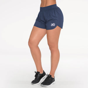 Phantom Athletics Trainings Shorts Eclipse Training Workout Yoga Black Locker Navy Blau Blue