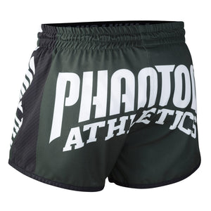 Phantom Athletics Revolution Muay Thai Shorts Hose Thaiboxen Thai boxing  Pants Bottoms K1 Black Schwarz Grün Green