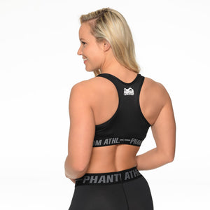 Phantom Athletics Sports Bra Eclipse BH Fitness Yoga Sport Black Schwarz