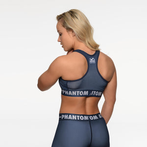 Phantom Athletics Sports Bra Eclipse BH Fitness Yoga Sport Blue Blau Navy