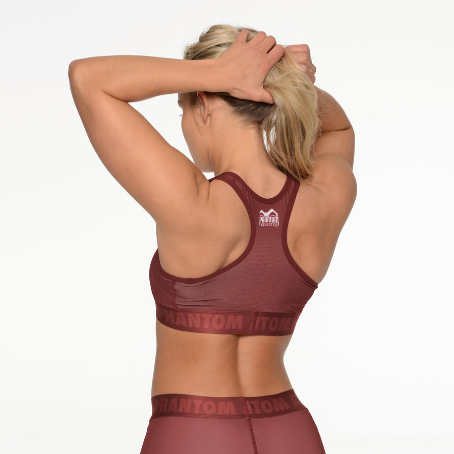 Phantom Athletics Sports Bra Eclipse BH Fitness Yoga Sport Red Rot
