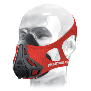 Phantom Trainingsmaske Training Mask Sleeve Kopfband Rot Red Firefighter Feuerwehr