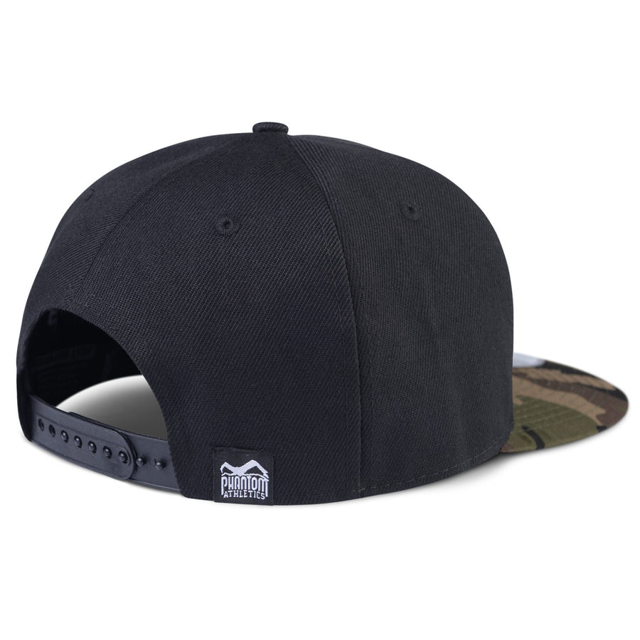 Phantom Athletics Cap Team Kappe Snapback Hat Logo MMA Mixed Martial Arts Camo Camouflage Black Schwarz