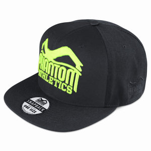 Phantom Athletics Cap Team Kappe Snapback Hat Logo Neon Fluo Grün Green Yellow Gelb