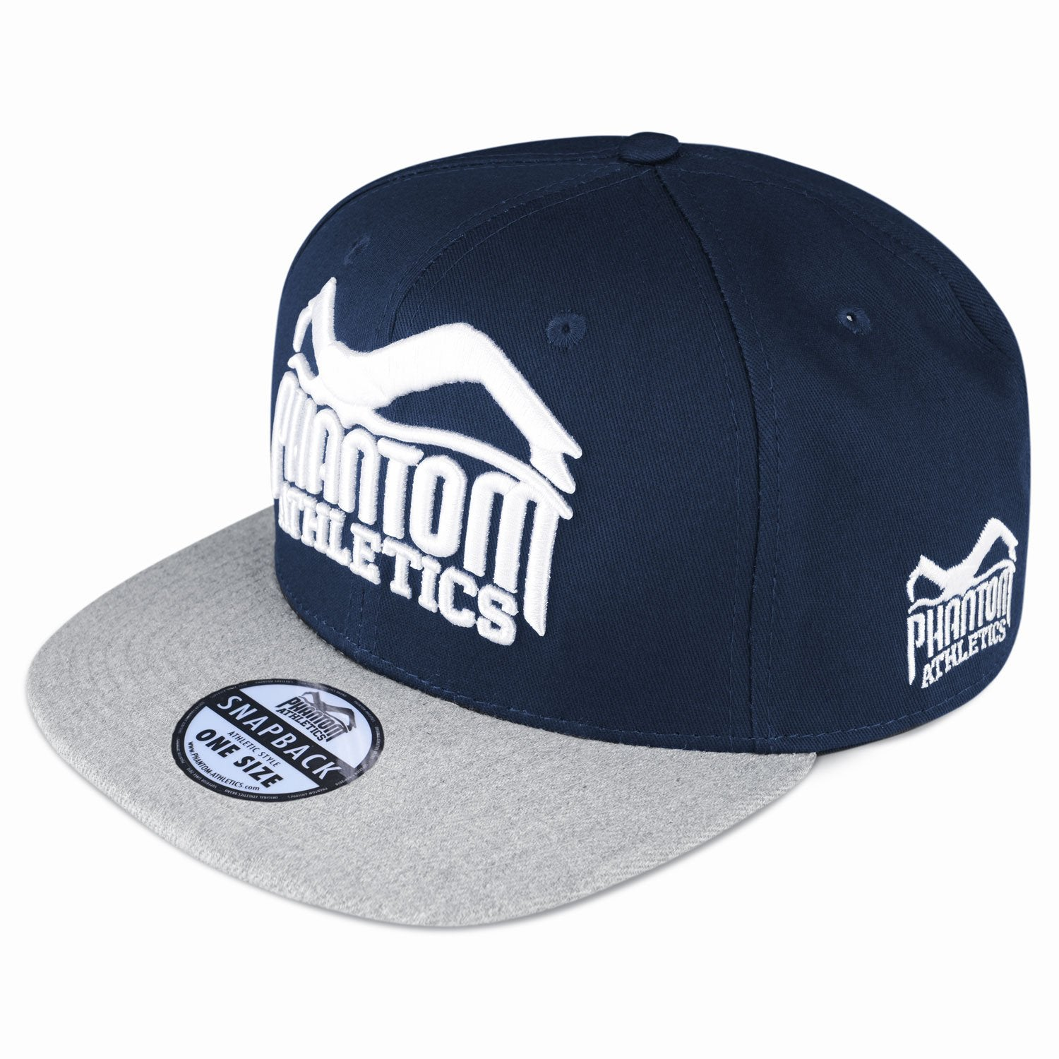 1f79384e304 Phantom Athletics Cap Team Kappe Snapback Hat Logo Blue Blau Navy