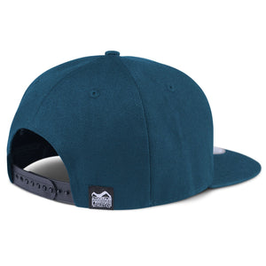 Phantom Athletics Cap Team Kappe Snapback Hat Logo Blue Blau Petrol