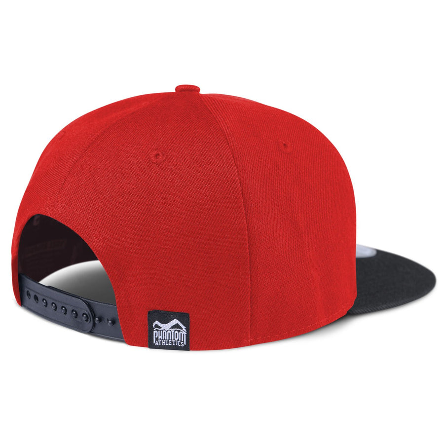 Phantom Athletics Cap Team Kappe Snapback Hat Logo rot Red Black Schwarz