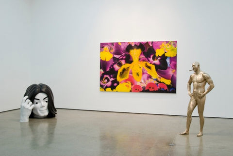 Installation image from White Cube, 2010