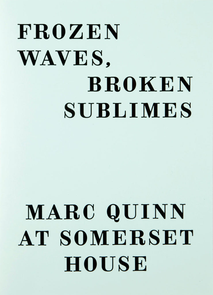 Frozen Waves, Broken Sublimes