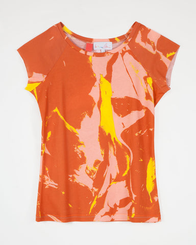 Flesh / Camo Orange (ladies)