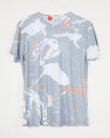 Flesh / Camo Blue (mens)