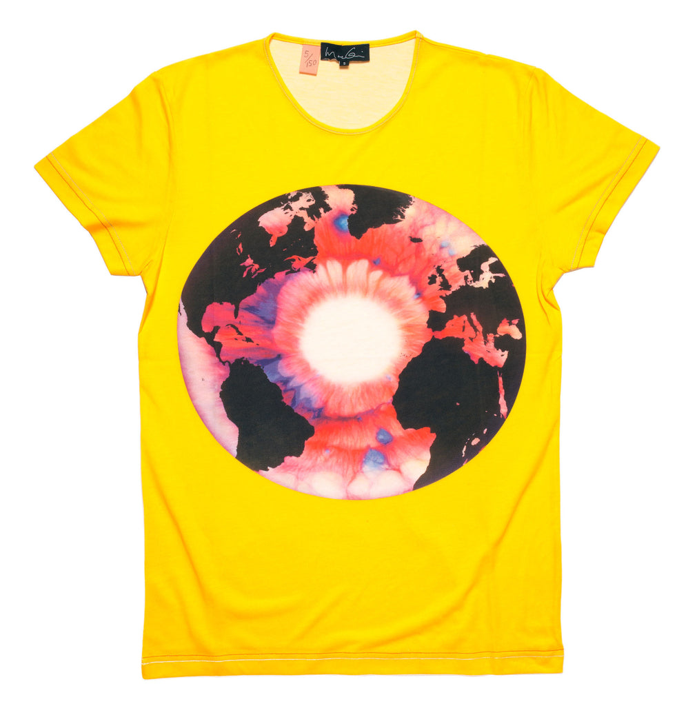 Eye of History (Red) Yellow T-shirt