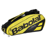 Babolat Pure Aero x6 Racket Bag (2019) - Yellow/Black - Babolat - Rackets Express