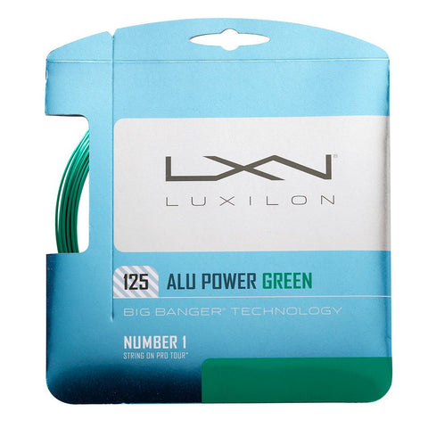 Luxilon 125 Alupower 16L (1.25) - Green - Luxilon - Rackets Express