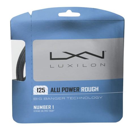 Luxilon 125 Alupower Rough - Silver - Luxilon - Rackets Express